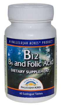 B12, B6, Folic Acid Supplement